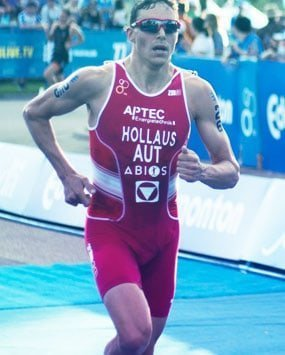 Man in marathon