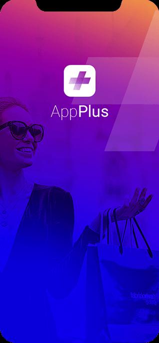 Mobile app header